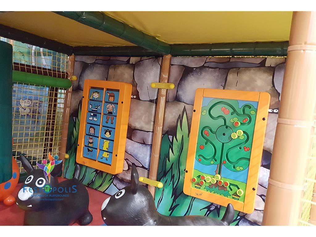 Playground uso interno Baby Jungle FEPI 023 B 7