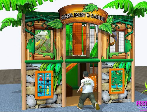 Playground Uso Interno Baby Jungle FEPI-023 B