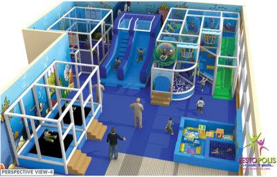 Playground uso interno Chiccolandia Festopolis FEPI-036 Design-4