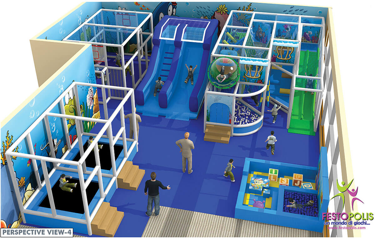 Playground uso interno Chiccolandia Festopolis FEPI-036 Design-4
