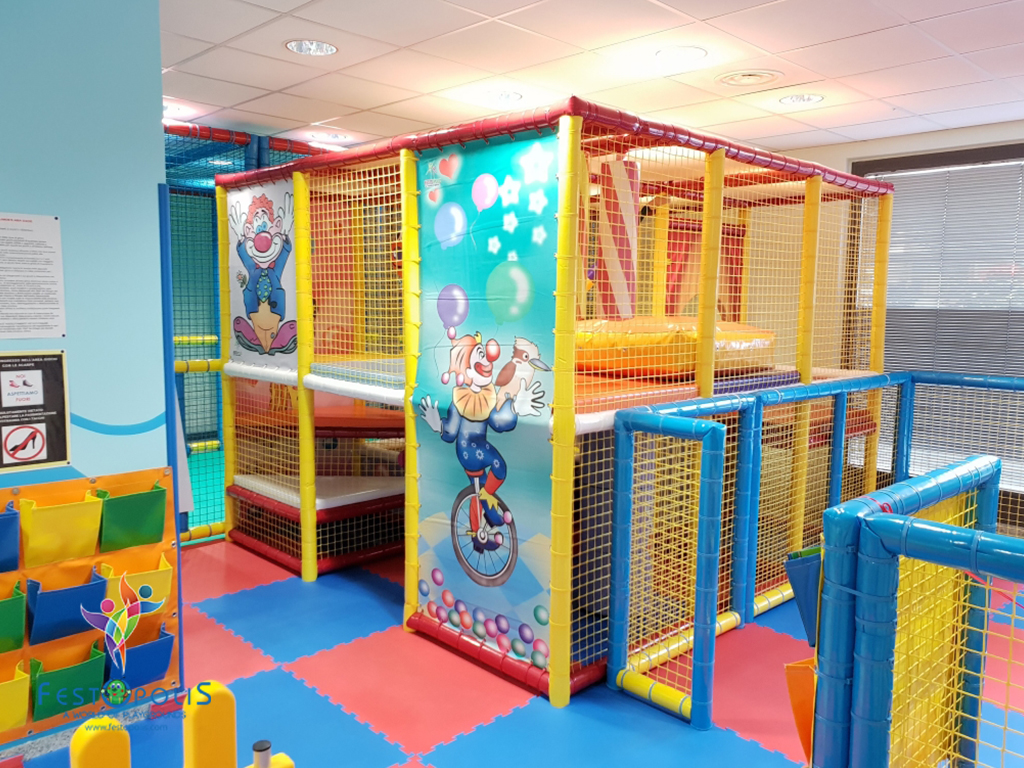 Playground uso interno Clown FEPI 023 1
