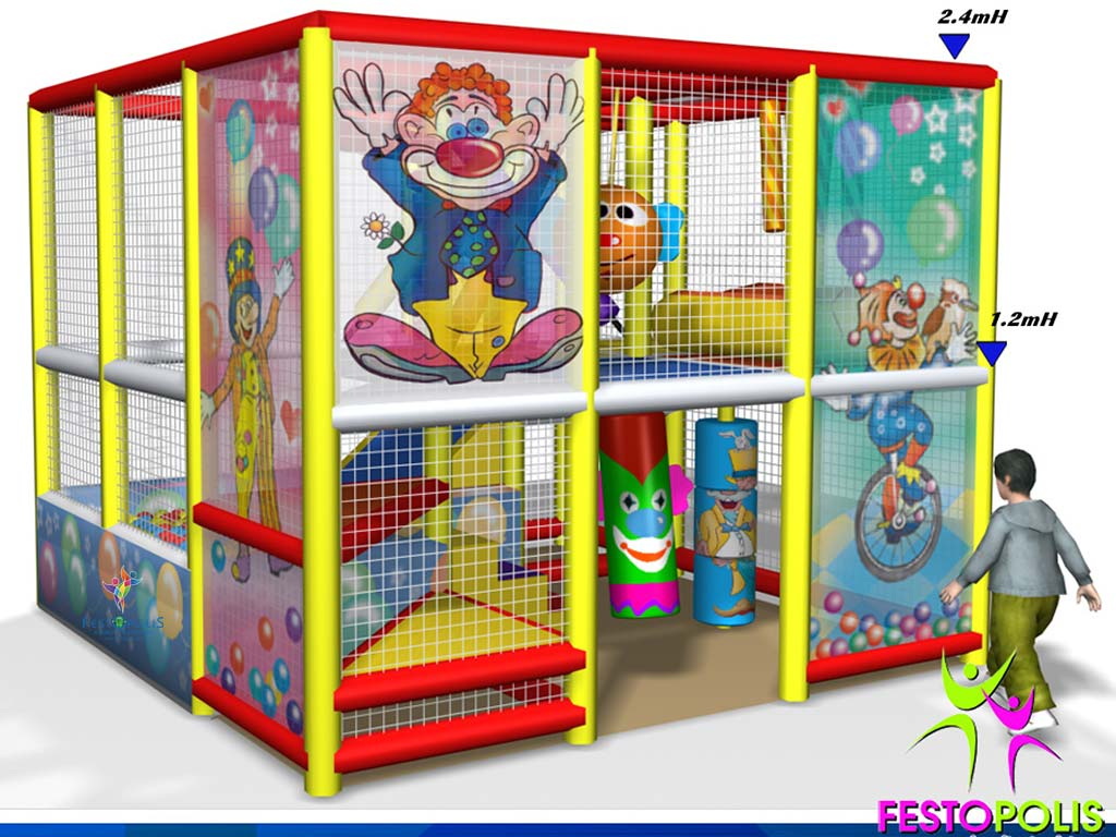 Playground uso interno Clown FEPI 023 10
