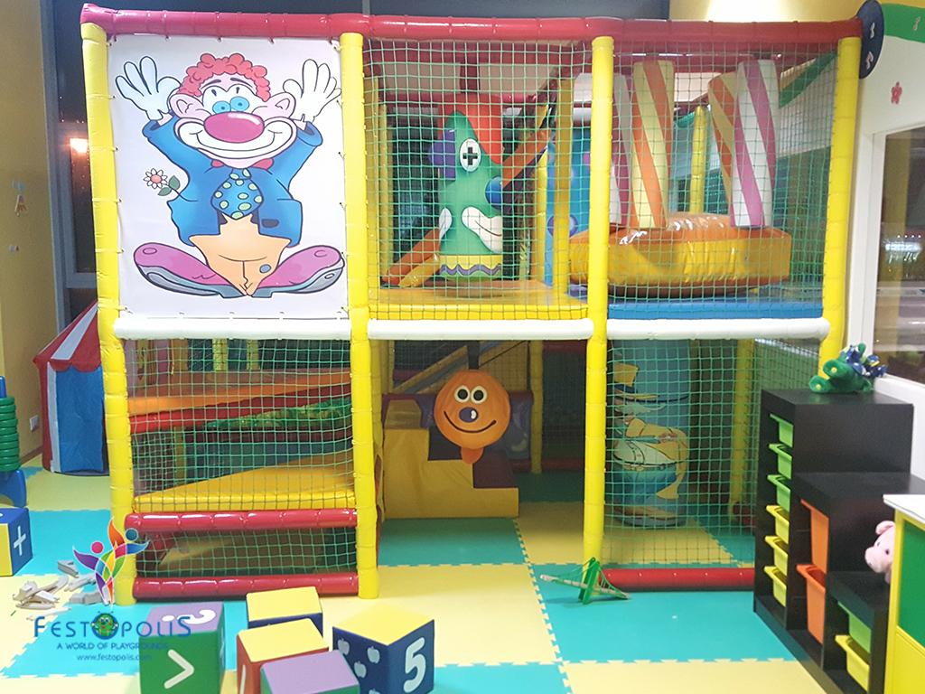 Playground uso interno Clown FEPI 023 2
