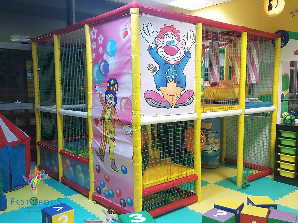 Playground uso interno Clown FEPI 023 3