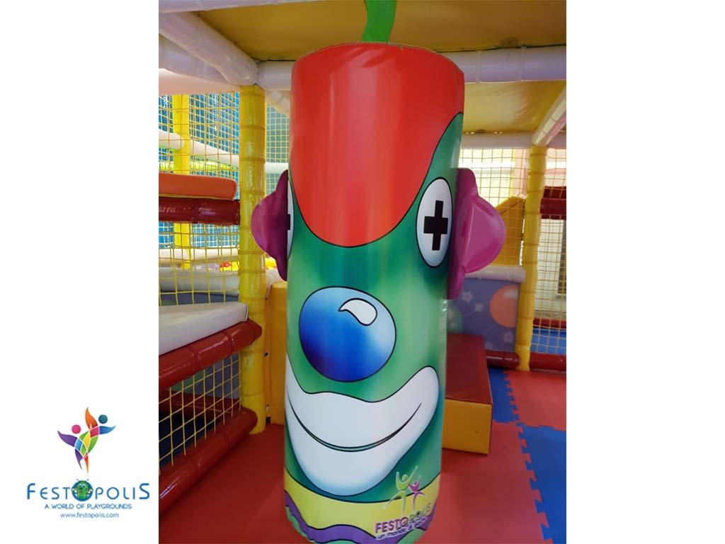 Playground uso interno Clown FEPI 023 5
