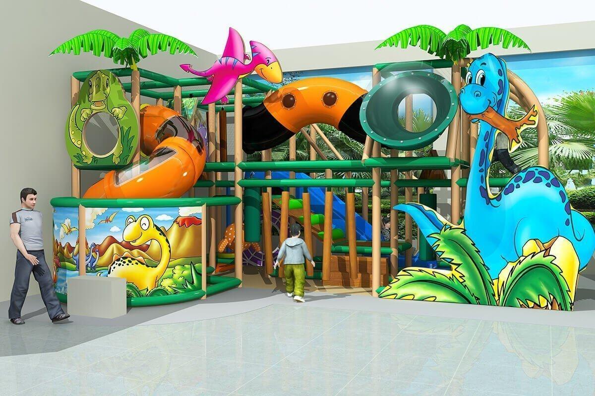 Playground uso interno Dinopolis Festopolis FEPI-034