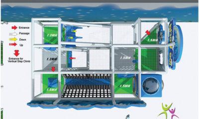 Playground uso interno Iceworld Festopolis FEPI-035 7