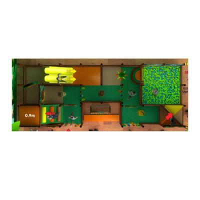 Playground uso interno King Kong Festopolis FEPI-032 3