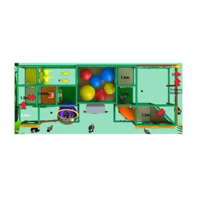 Playground uso interno King Kong Festopolis FEPI-032 4