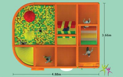 Playground uso interno Party Festopolis FEPI-025 5