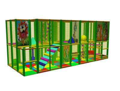 Playground uso interno Playground Five Festopolis FEPI-603 1