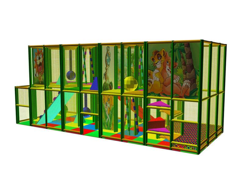 Playground uso interno Playground Five Festopolis FEPI-603 2
