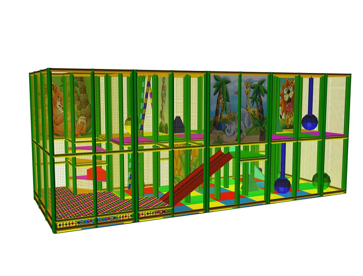 Playground uso interno Playground Five Festopolis FEPI-603 3