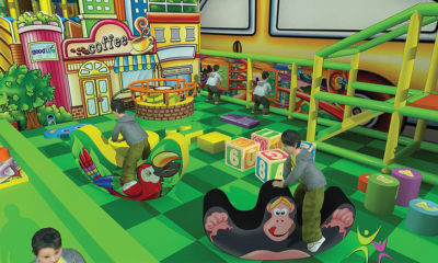 Playground uso interno Playground Rainbow Festopolis FEPI-037 4