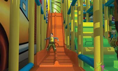 Playground uso interno Playground Rainbow Festopolis FEPI-037 6