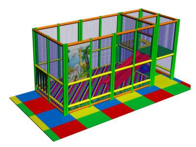 Playground uso interno Playground three Festopolis FEPI-601 Play 1-1