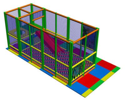 Playground uso interno Playground three Festopolis FEPI-601 Play 1-4