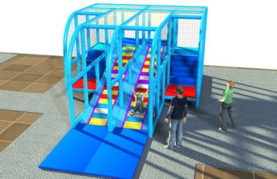 Playground uso interno Scivolo a rulli Festopolis FEPI-056 1