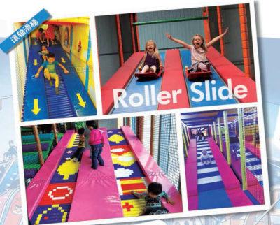 Playground uso interno Scivolo a rulli Festopolis FEPI-056 2