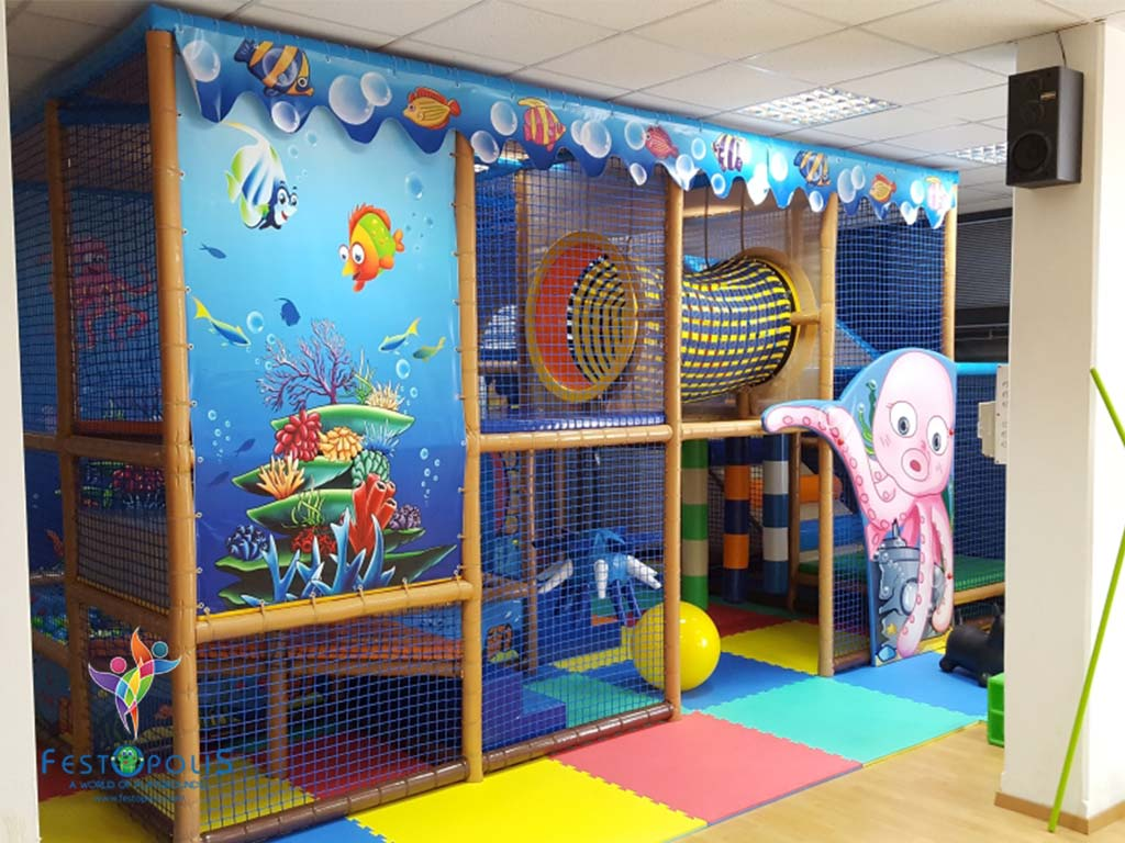 Playground uso interno Sea Life FEPI 024 1