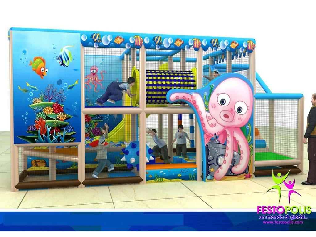 Playground uso interno Sea Life FEPI 024 8
