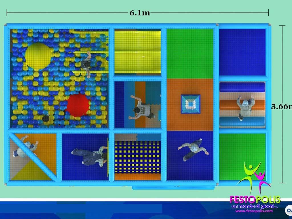 Playground uso interno Sea Life FEPI 024 9