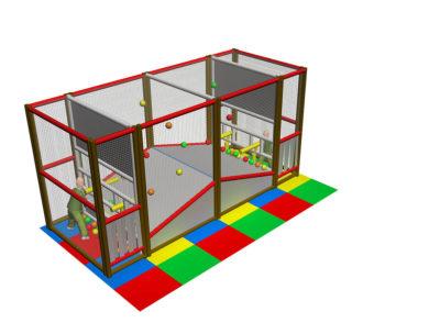 Playground uso interno Sparapalline Festopolis FEPI-604 1