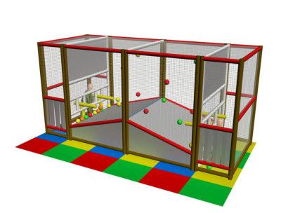Playground uso interno Sparapalline Festopolis FEPI-604 2