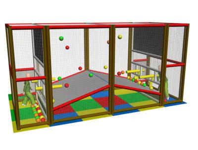 Playground uso interno Sparapalline Festopolis FEPI-604 3