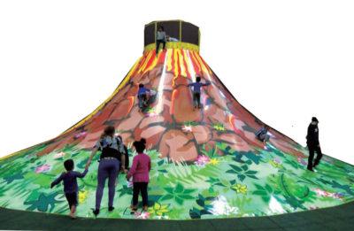 Playground uso interno Vulcano Festopolis FEPI-050 1
