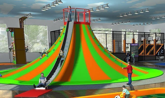 Playground uso interno Vulcano Festopolis FEPI-050 2