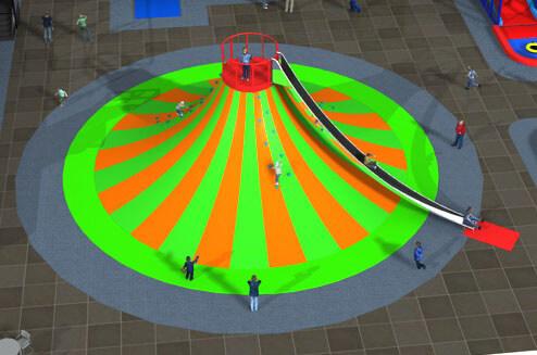 Playground uso interno Vulcano Festopolis FEPI-050 3