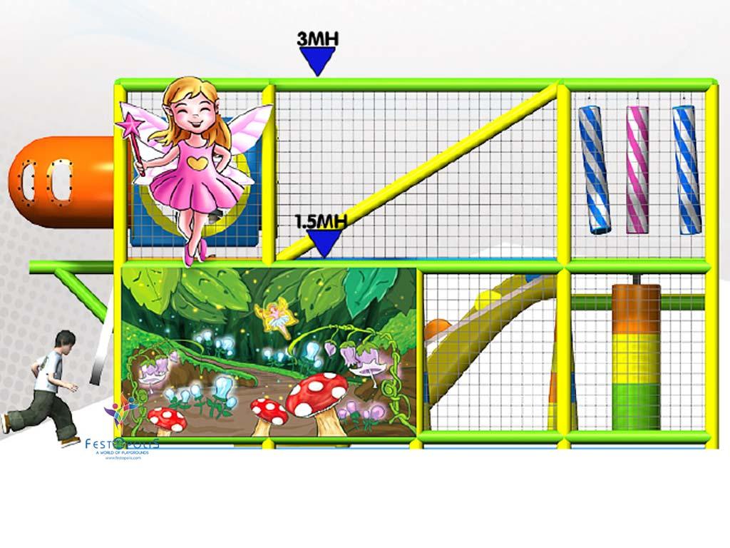 Playground uso interno Wonderland Festopolis FEPI 008 11 1