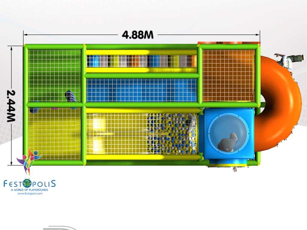 Playground uso interno Wonderland Festopolis FEPI 008 12 1
