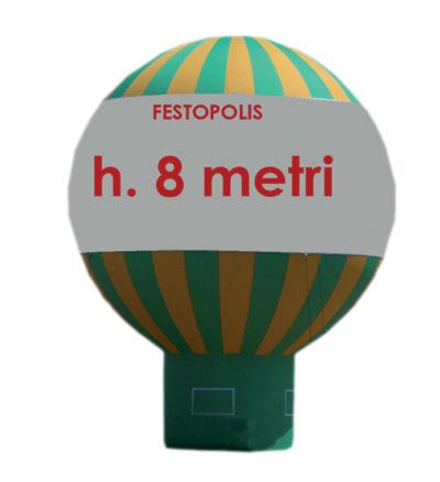 Pubblicitari Mongolfiera Festopolis FEPB-008