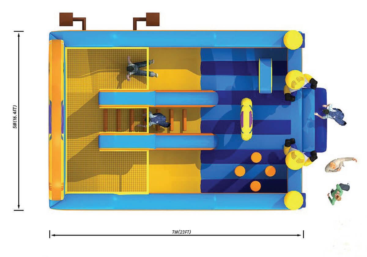Scivoli Scivolo Big Minions Festopolis FESC-032 3
