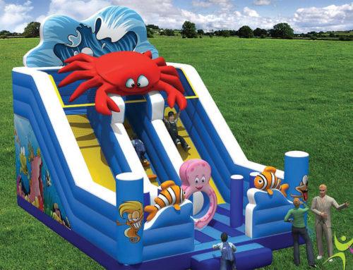 Scivolo Gonfiabile Crab FESC-028