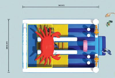 Scivoli Scivolo Crab Festopolis FESC-028 3