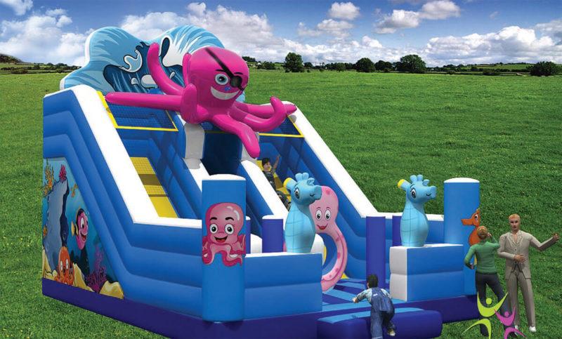 Scivoli Scivolo Octopus Festopolis FESC-029 1