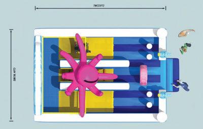Scivoli Scivolo Octopus Festopolis FESC-029 3