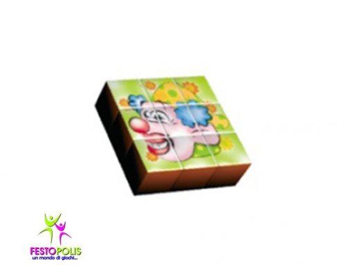 Gioco Per Interno Set 9 Cubi Circo FEAS-056