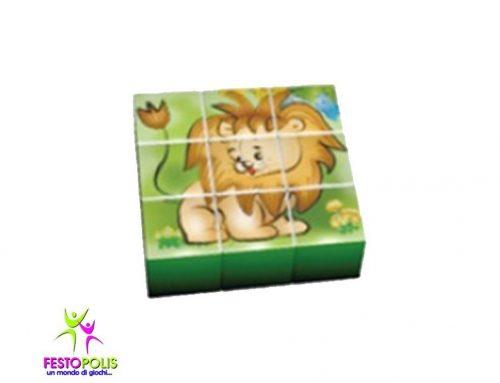 Gioco Per Interno Set 9 Cubi Giungla FEAS-057