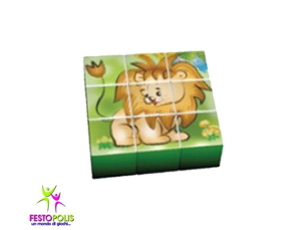 Set 9 Cubi Giungla FEAS 057