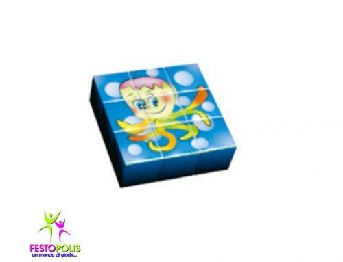 Gioco Per Interno Set 9 Cubi Oceano FEAS-055