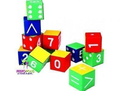 Set Dodici Cubi Soffici FEAS 041 1