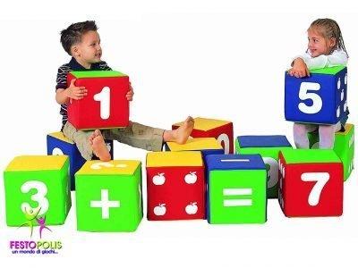 Set Dodici Cubi Soffici FEAS 041 3
