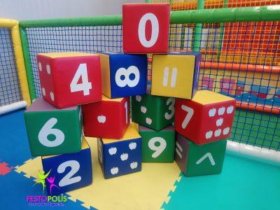 Set Dodici Cubi Soffici FEAS 041