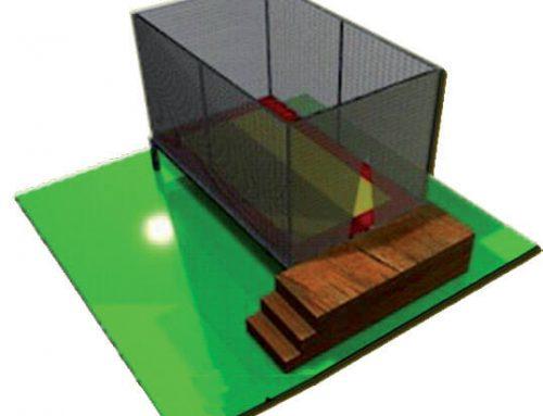 Tappeto elastico rettangolare 1 posto FETE-001