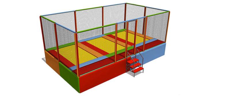 Tappeti Elastici Tappeto elastico rettangolare 3 posti Festopolis FETE 003