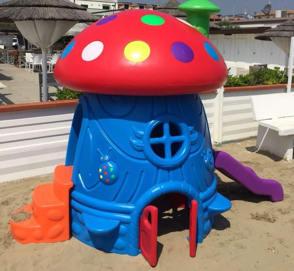 gioco per bambini in plastica fungo gigante fegp 101 02